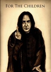 Snape:  For the Children by SarahSilva