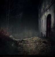 Premade BG Creepy Place by E-DinaPhotoArt