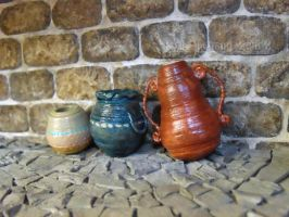 Steampunk House Basement Pottery Detail by Kyle-Lefort