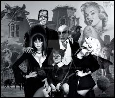 Goetia Girls: Monster Munster Family Marilyn by GHOSTCROW1