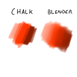 Manga Studio 5 chalk brush from Photoshop by teuthidaarchiteuthis