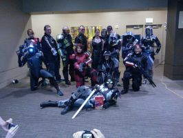 PAX Prime Mass Effect Cosplayers by Mizutanitony