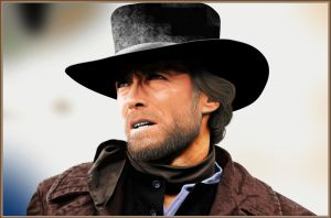 Clint Eastwood Pale Rider by KevyMetal
