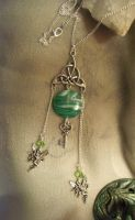 Celtic fairy-necklace by Destinyfall