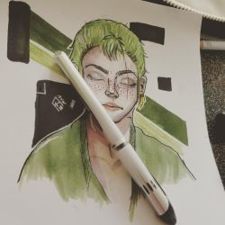 My young Zoro by Aderian01