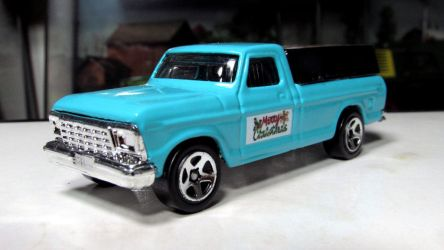 Hot Wheels 1979 F-150 by craftymore