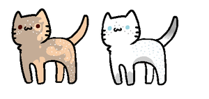 cLOSED : Two Themed Kitties 0/2 by Violeta-Adopts