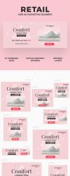 Retail Web Ad Marketing Banners by webduckdesign
