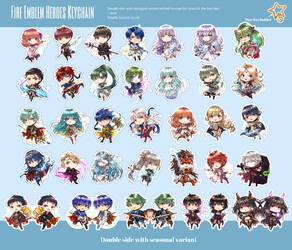 FEH Keychains PREORDERS (until April 15th) by Wanini