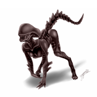 XenoGirl the Alien by pegasi-tw