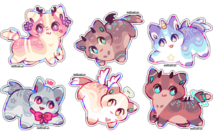 + smol and tiny adopts || 1 left + by MellowKun
