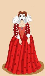 Portrait of a fair lady by Chinesegal