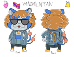 Vandalnyan - My Yo-kai Watch OC by SodaDog