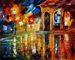Energy by Leonid Afremov by Leonidafremov