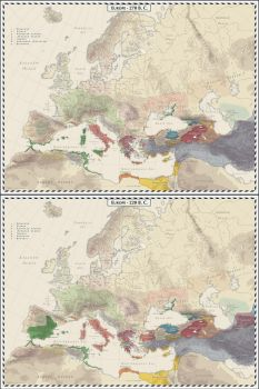 Preview - Europe 270 BC and 220  BC by Cyowari