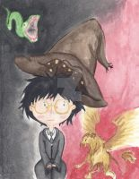 The Sorting Hat by Giulia-Imbriani