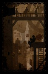 Steampunk Tarot The City by TheBlindProphetess