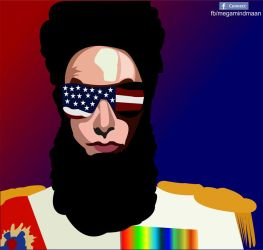 Low Res Vector Art  ~The Dictator~ by megamindmaan
