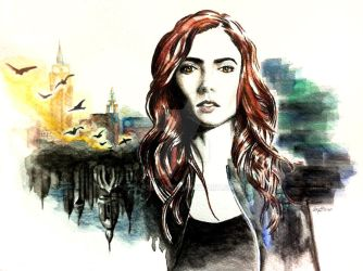 Clary - City of Bones by cap3llar