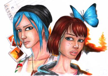 Life is Strange - Fanart by Dinoforce