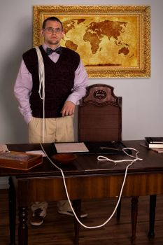 Prof. Plum in the Study Room w/ The Rope by a1photographe