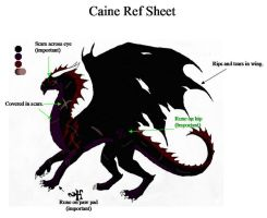 Caine ref sheet by inuyasha1086
