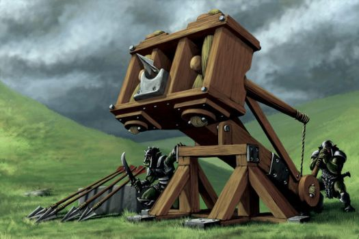 Heavy Ballista by quellion