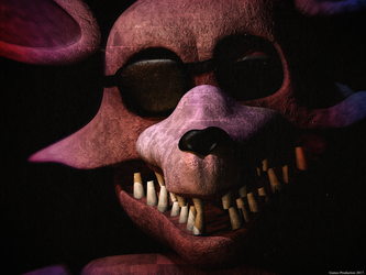 FNAF 2 - Unwithered Foxy by GamesProduction
