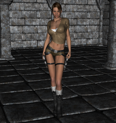 Tomb Raider - Lara Croft 1 by FatalHolds
