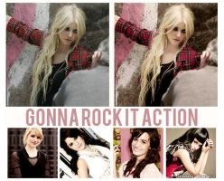 gonna rock it action by asyouforget
