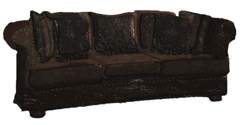 Burnt Couch Request png by mysticmorning