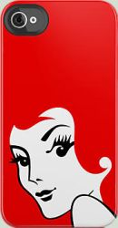 Miss Redhead iPhone / iPod Case at RedBubble by GreenEyedHarpy