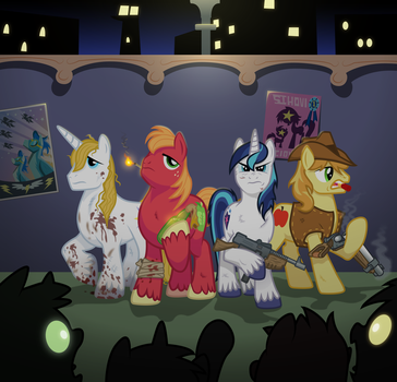 MLP of the dead - By Wisdom-Thumbs by Starbolt-81