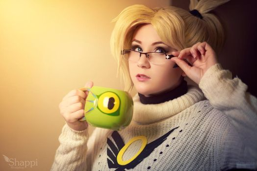 Dr. Ziegler - Overwatch by Shappi