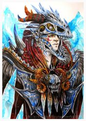 frostbone Warchief by Hollow-Moon-Art