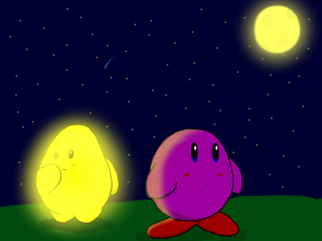 Kirby and Starfy by RichardtheDarkBoy29