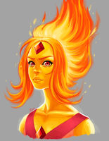 Flame Princess by KittyCatKissu