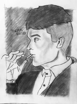 Thomas Shelby | Peaky Blinders by awkwardtoast05