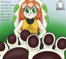 Milla: Green Three by Hail2DSparkZone