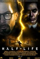 Half-Life Movie Poster by EspionageDB7