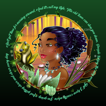 Tiana Bust by Asher-Bee