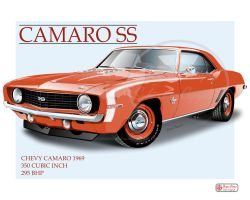Camaro 1969 by SturgessDesigns
