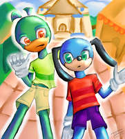 Flippy And Slappy by Ini-Inayah