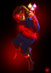 Commission 2018 - LV Frisk by oennarts