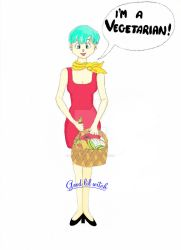 Bulma is a Vegetarian! by Goodlilwitch