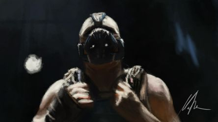 speed - lighting study - Bane by michalmotyka