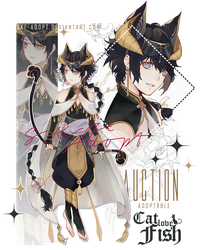 [CLOSED TY!]Cat Love Fish-The Core Archer by Skf-Adopt