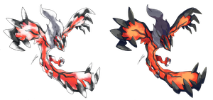 Yveltal - Old S. and Modern Style