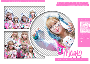 #049 | Pack Png | Momo | Twice by jellycxt