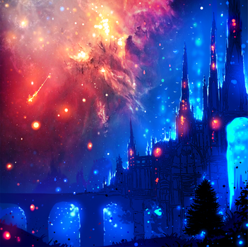 The Magic Castle by ryky